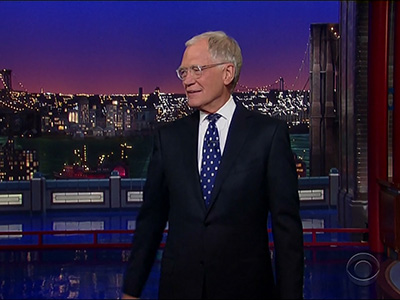 David Letterman Leaves Late Show