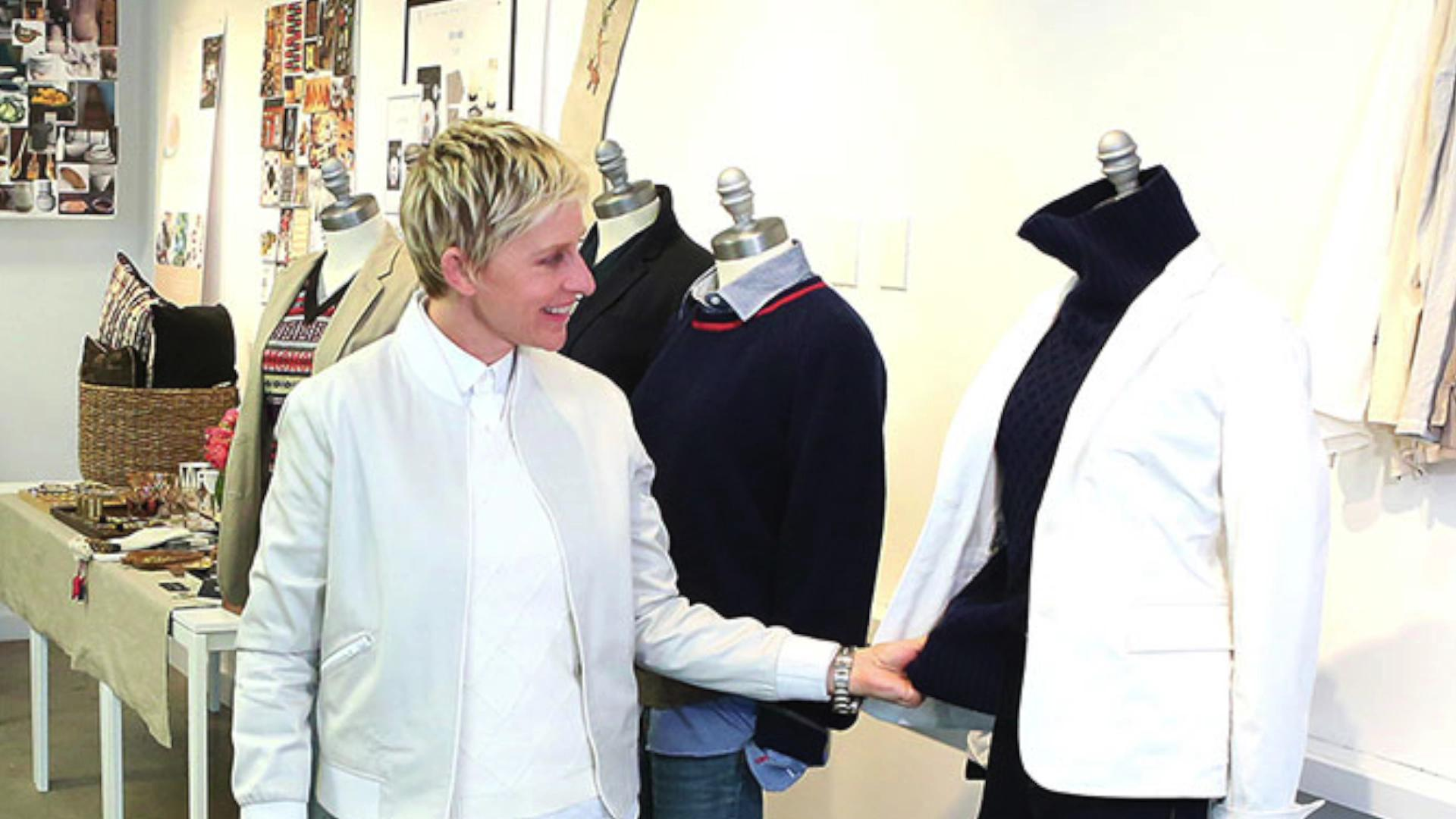 Ellen DeGeneres launching a fashion and housewares line