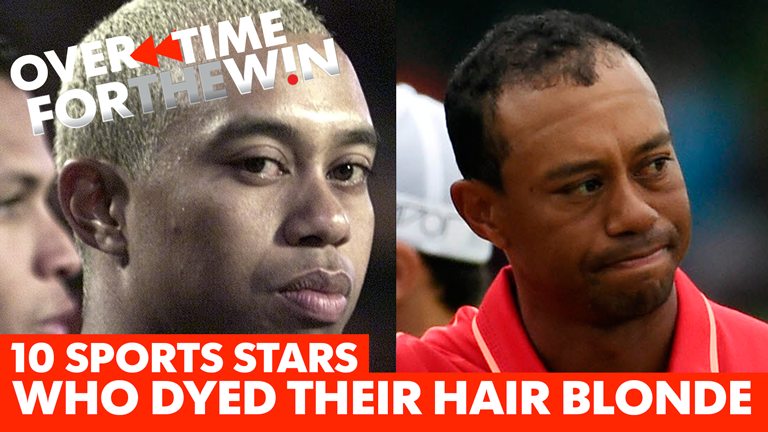 Tiger Woods and 9 other stars who regrettably dyed their hair blonde