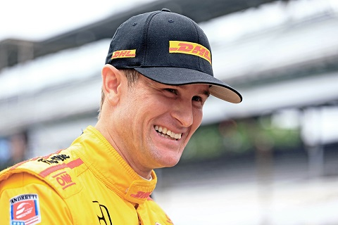 Ryan Hunter-Reay is hoping for a second Indy 500 win