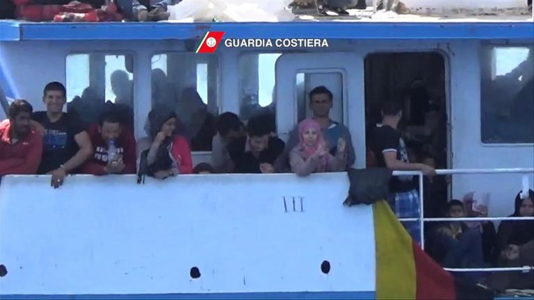 345 migrants rescued in Maltese waters: Italian coast guard