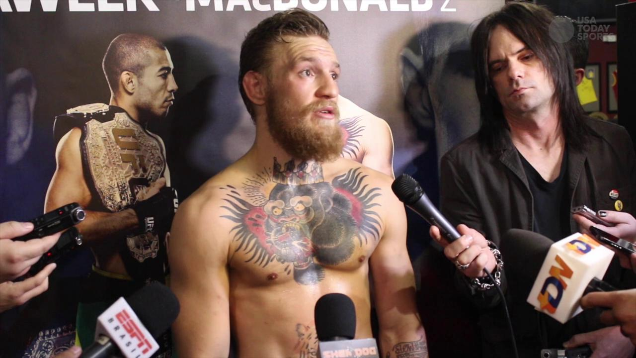 Conor McGregor discusses his plans to dismantle Jose Aldo