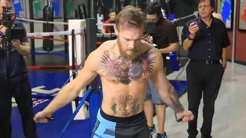 Conor McGregor workout highlight