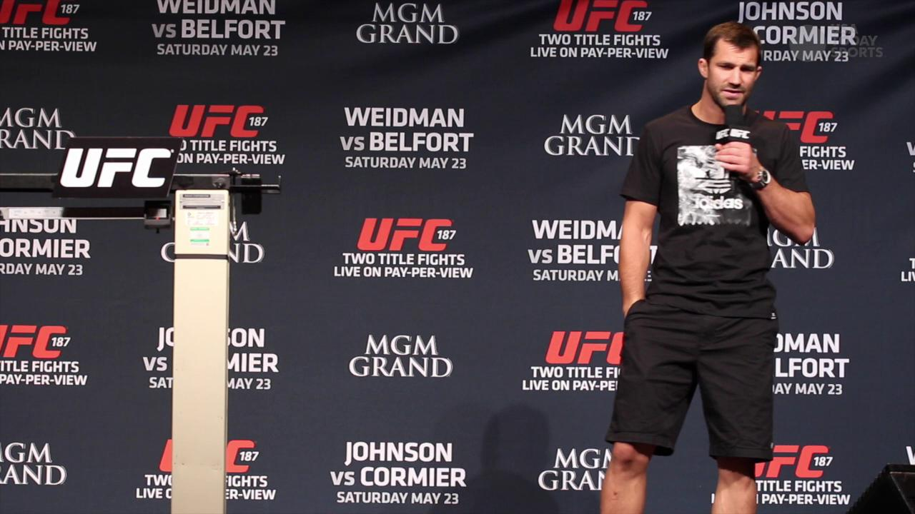 Luke Rockhold really doesn't like Vitor Belfort
