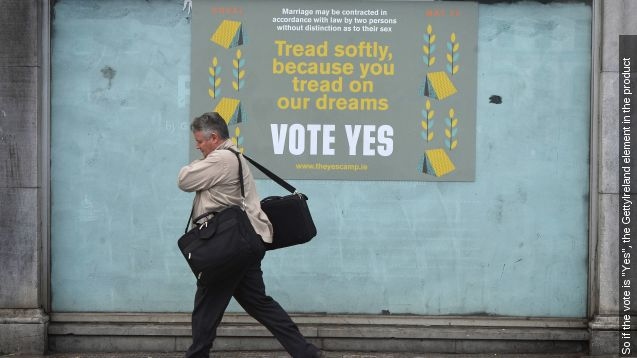 Ireland's Gay marriage Vote: 'no' campaign concedes