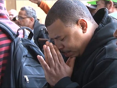 Raw: Protests erupt after officer acquittal