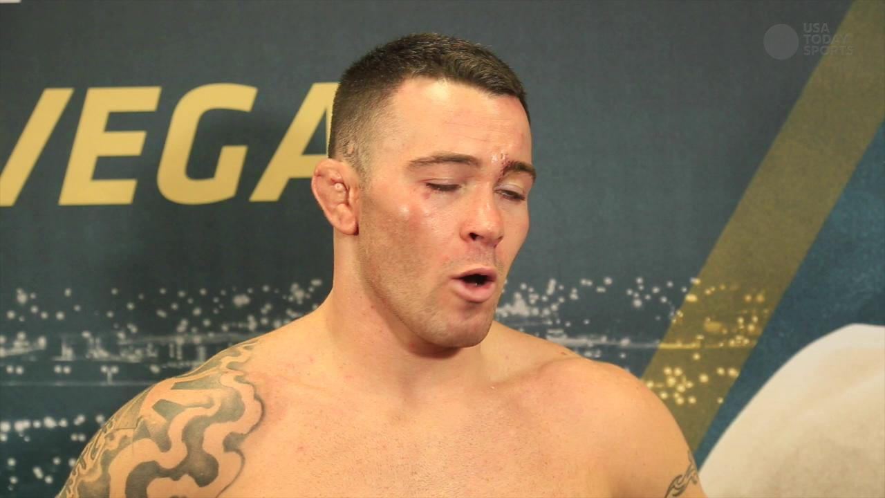 After UFC 187 win, Colby Covington laments former roommate Jon Jones' absence