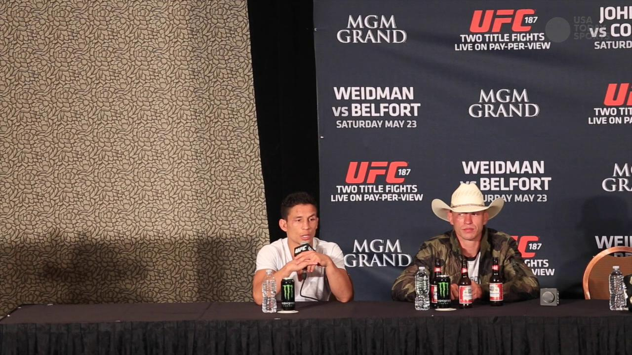 UFC flyweights Benavidez and Dodson on flyweight title picture after UFC 187
