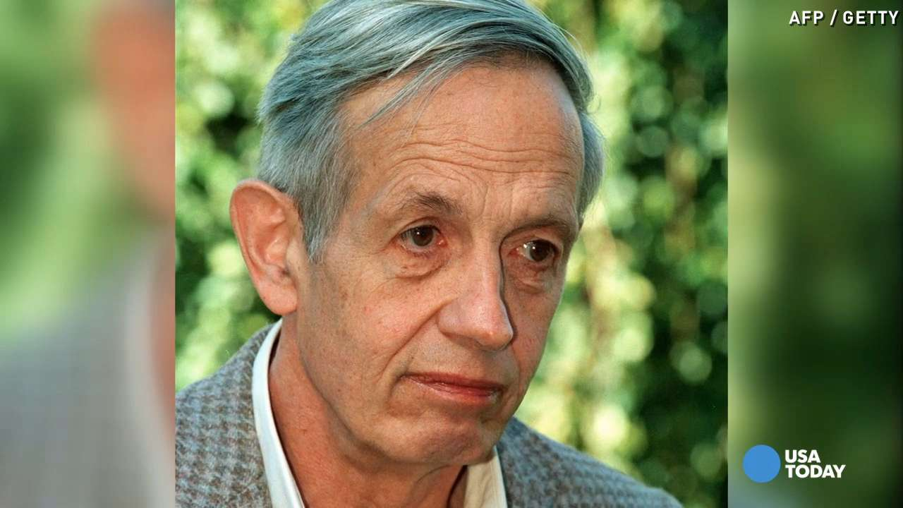 John Nash is seen in 1994