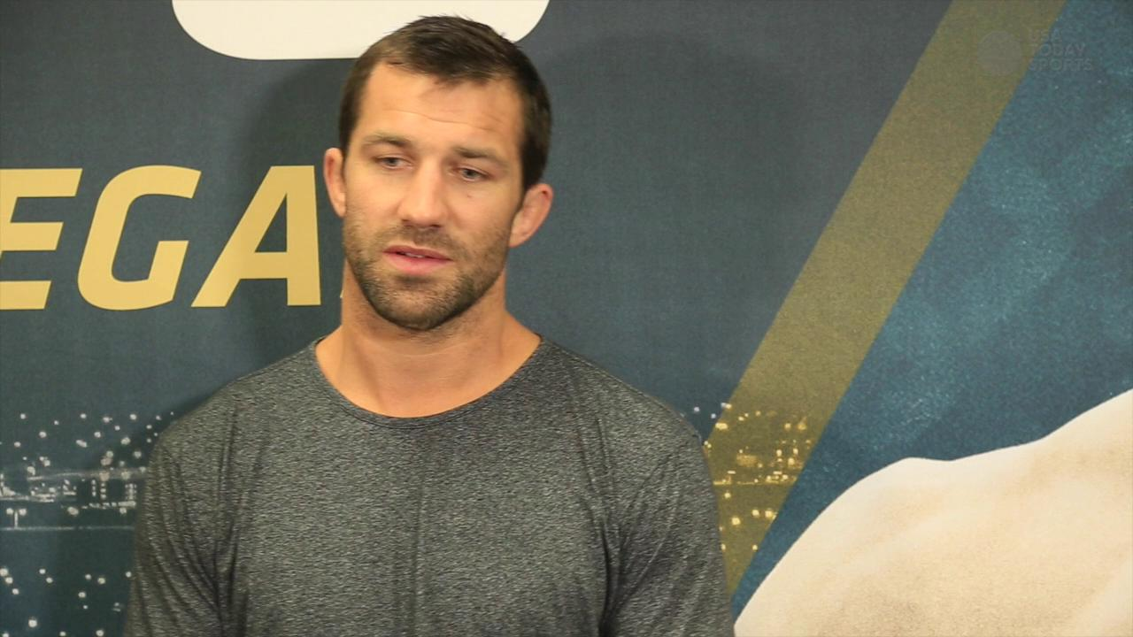 Luke Rockhold on how and when he'll match up with Weidman