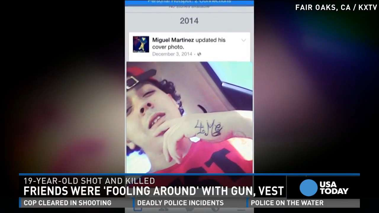 Brother: Teen died 'fooling around' with bulletproof vest