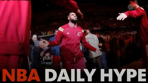 NBA Daily Hype: LeBron wills Cavs again