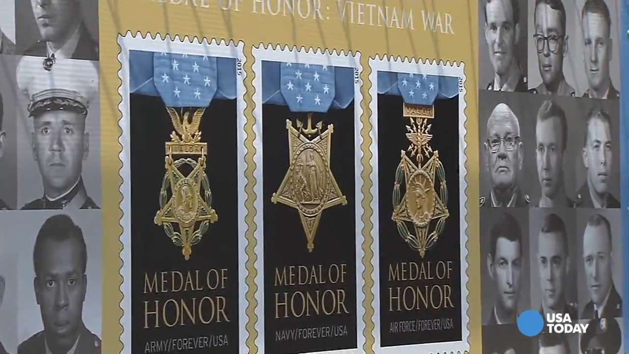 USPS stamps honor Medal of Honor recipients