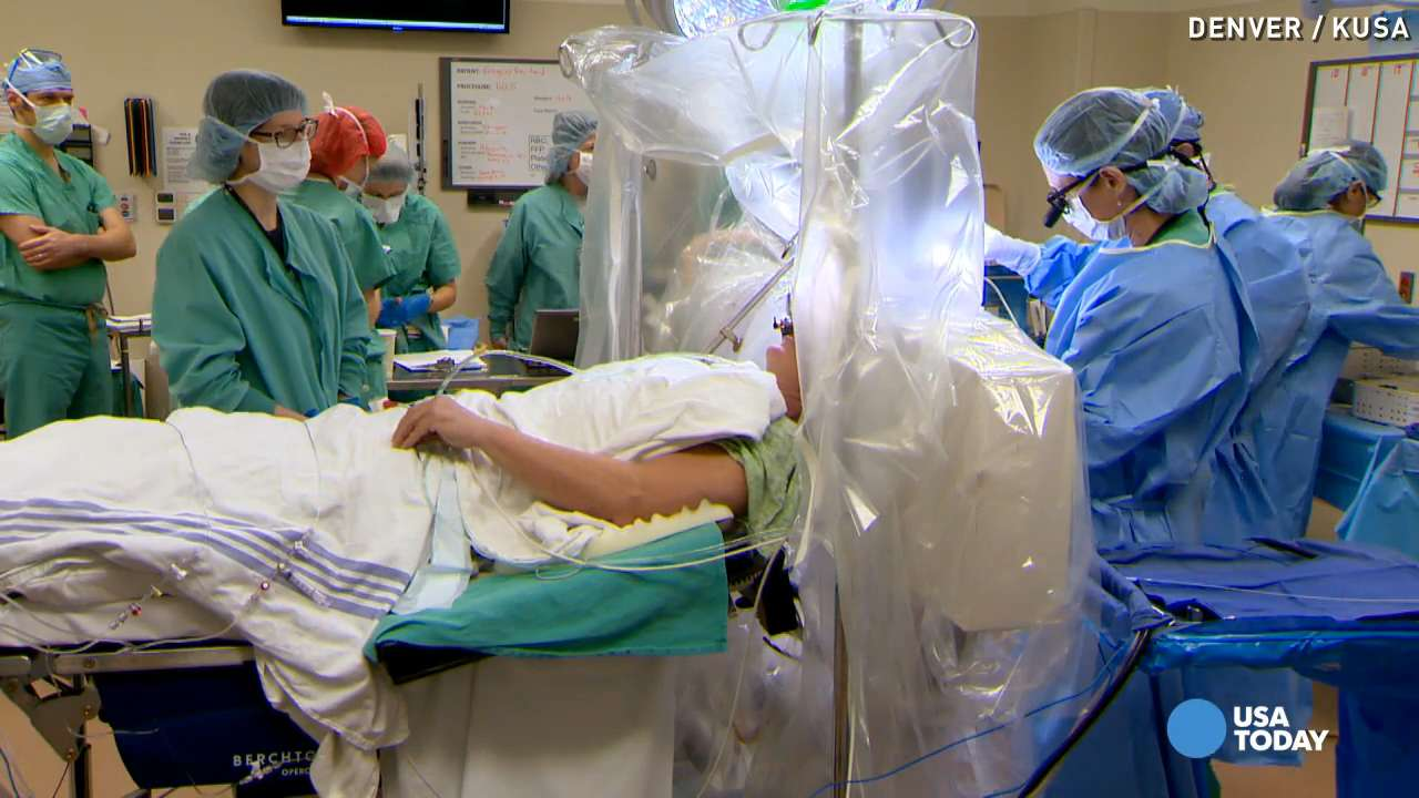 Take an inside look at life-changing brain surgery