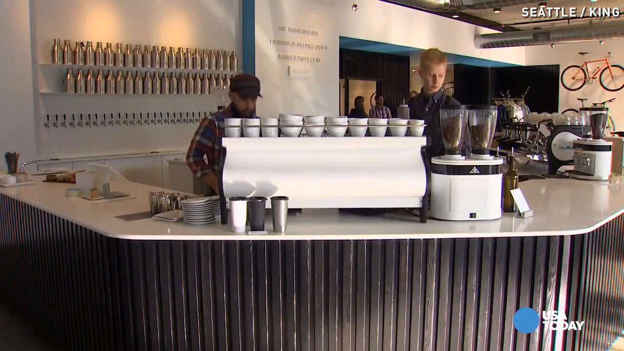 This shop blends coffee, beers, and bikes for charity