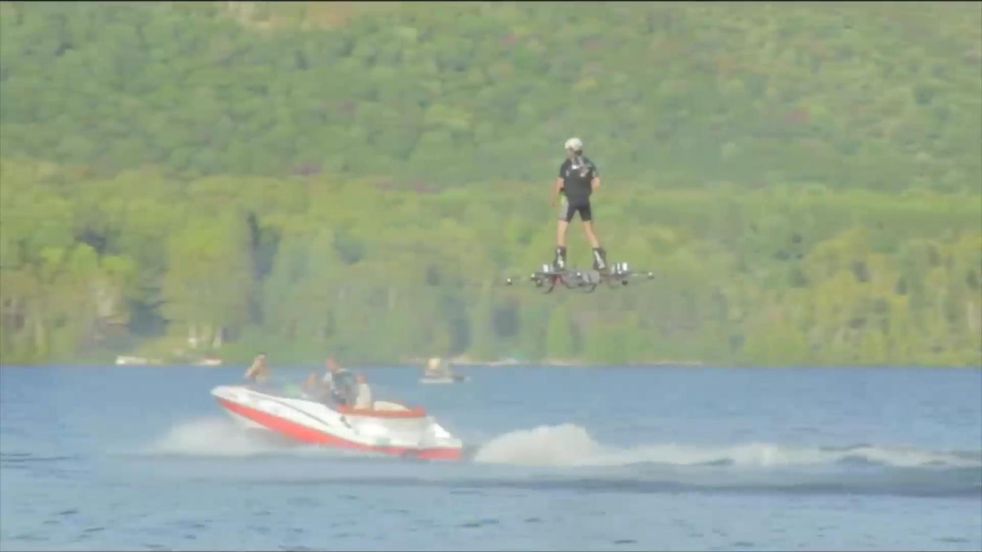 World record set for longest hoverboard ride