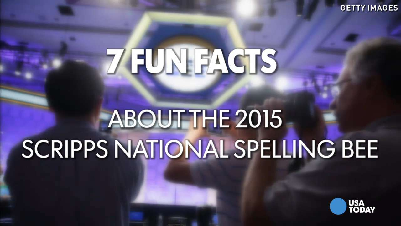 7 fun facts of the 2015 National Spelling Bee