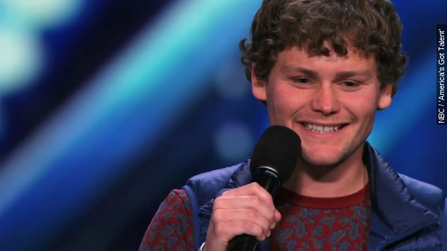 Stuttering comedian wows 'America' Got Talent' judges