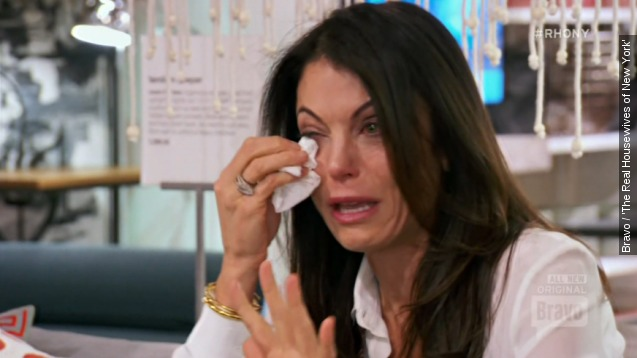 Bethenny breaks down in tears