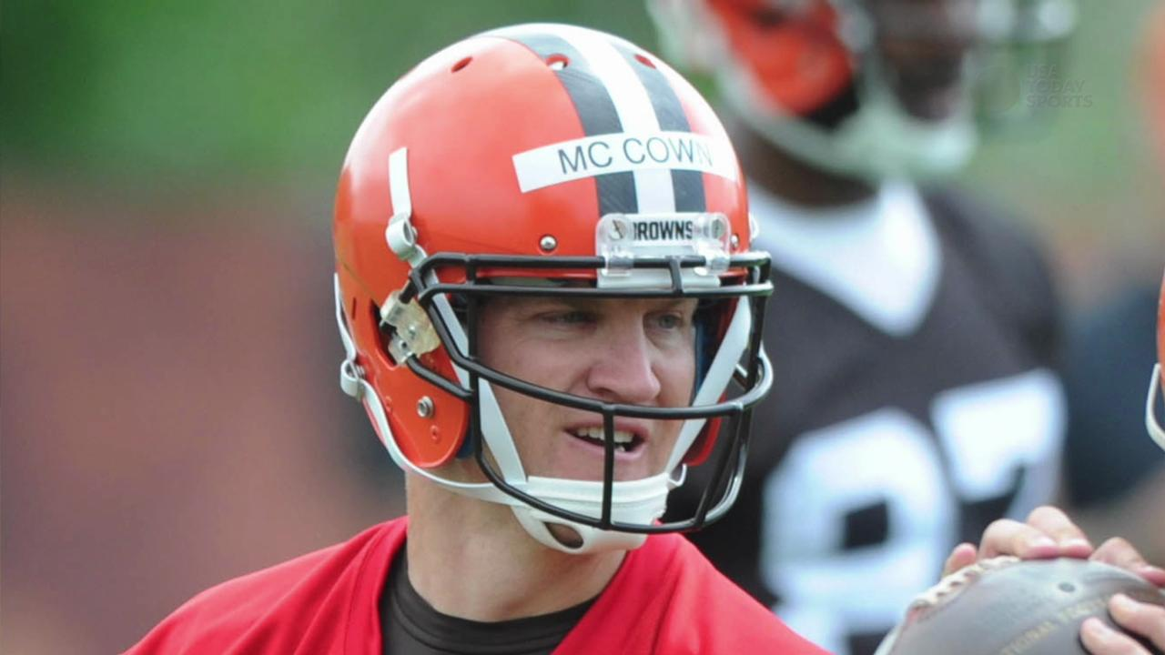 Will there be a quarterback battle in Cleveland?