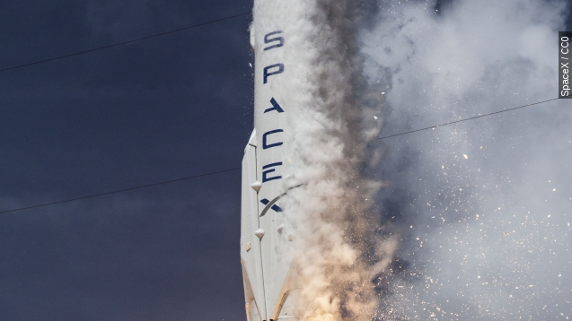 SpaceX cleared for military payloads