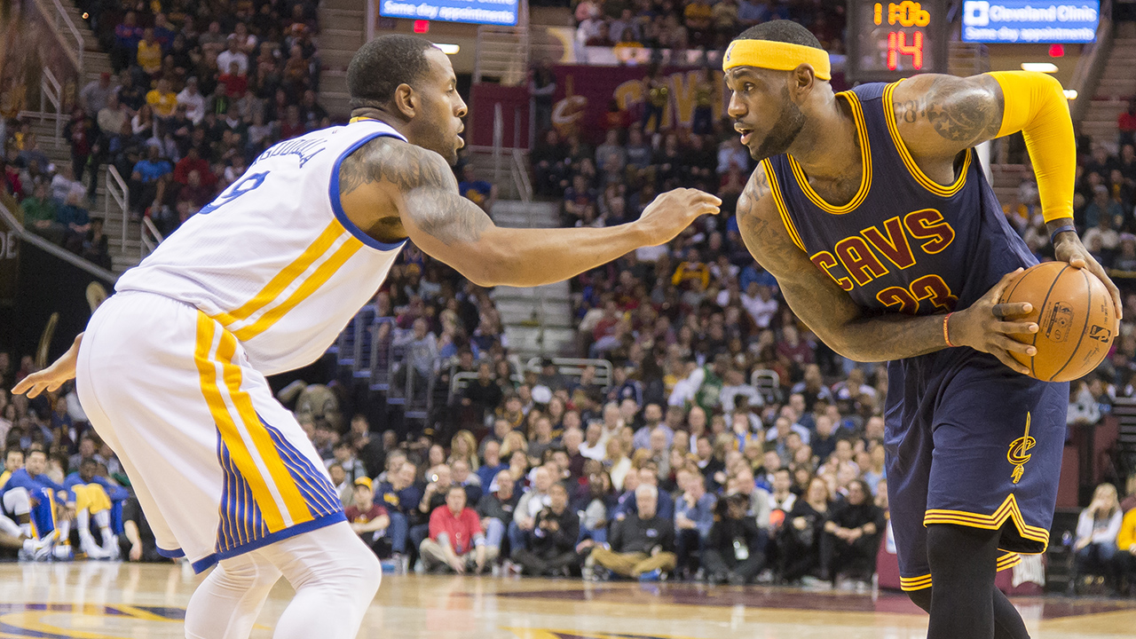 How would Warriors match up with LeBron James' Cavs?