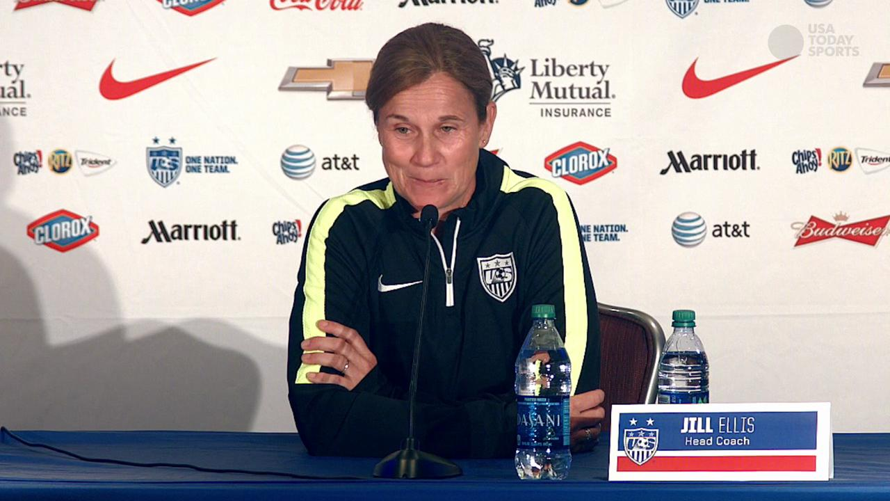 U.S. women's soccer team seeking World Cup glory