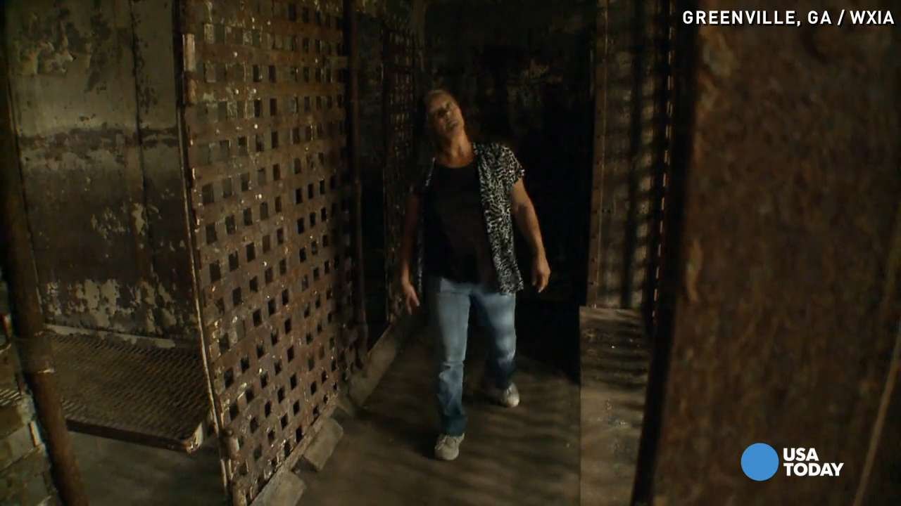 Woman buys old 'jail' and turns into home