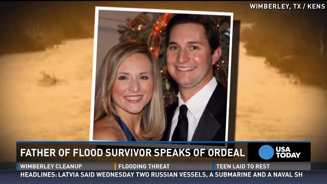 Father of Texas flood survivor hoping for 'a miracle'