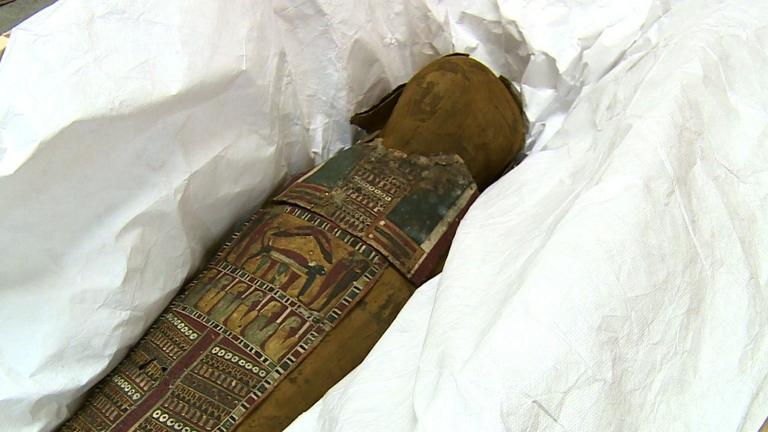 From rags to riches: The story of a lost mummy