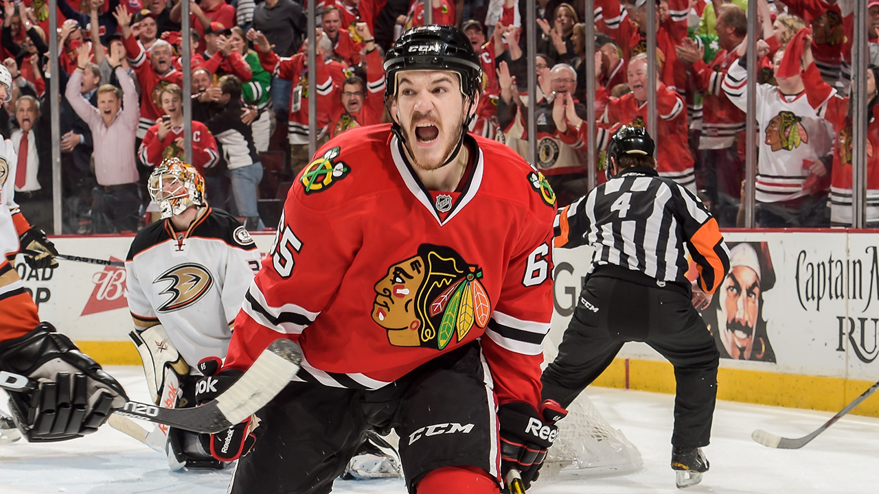 The Chicago Blackhawks held on to a 5-2 victory over the Anaheim Ducks Wednesday night, forcing Game 7.