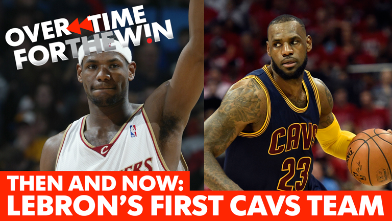 Then and Now: Lebron's rookie-year Cavaliers teammates