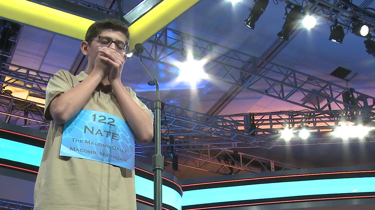 When memory isn't enough: Spellers use their fingers to figure words out | 2015 Scripps National Spelling Bee