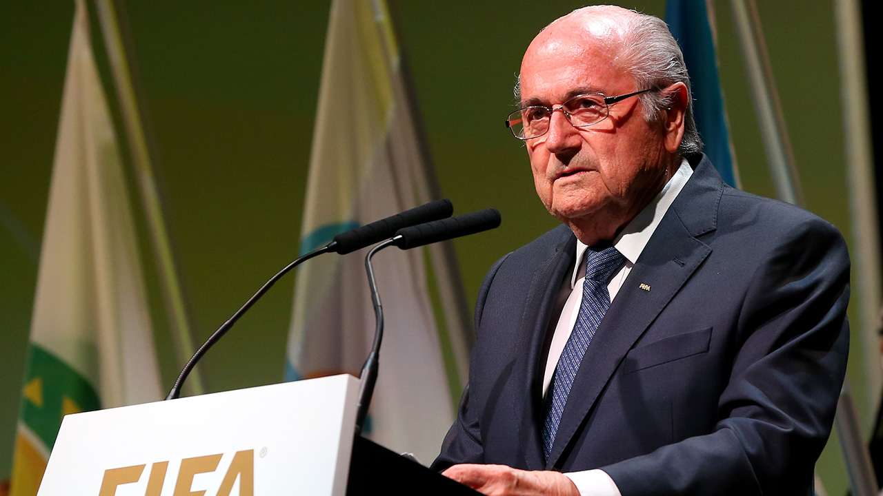 FIFA President Sepp Blatter spoke Thursday at the opening of the FIFA Congress, condemning the actions of the individuals arrested in connection with corruption within FIFA.