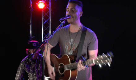 "American Idol winner Nick Fradiani  performs ""Beautiful Life"" for USA TODAY's StudioA."