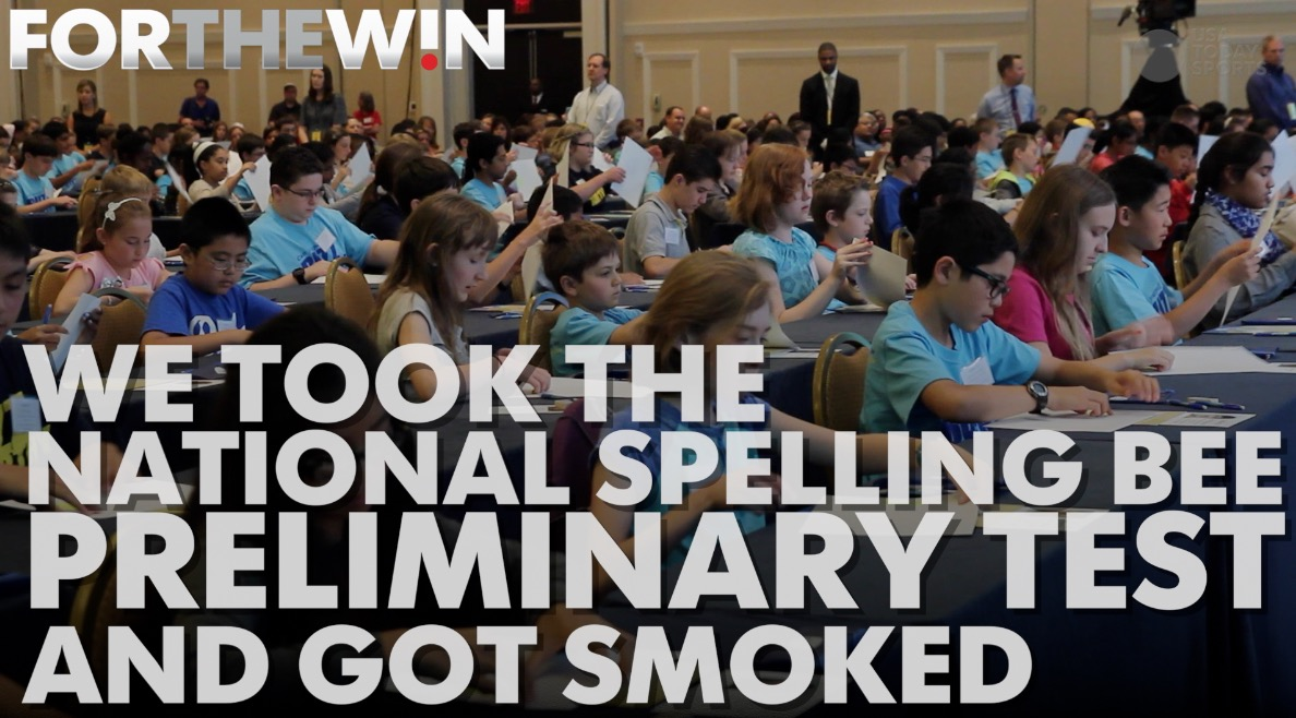 FTW Staff took the National Spelling Bee preliminary test and got smoked