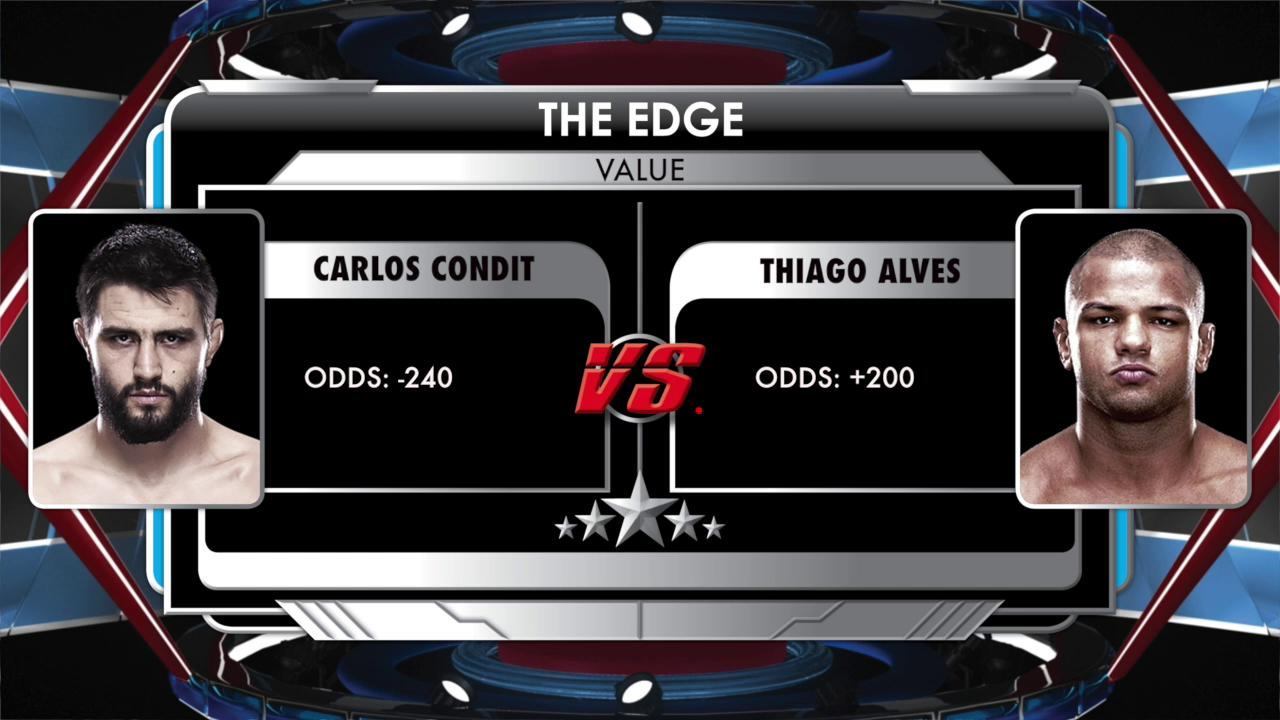 The Edge Condit vs Alves