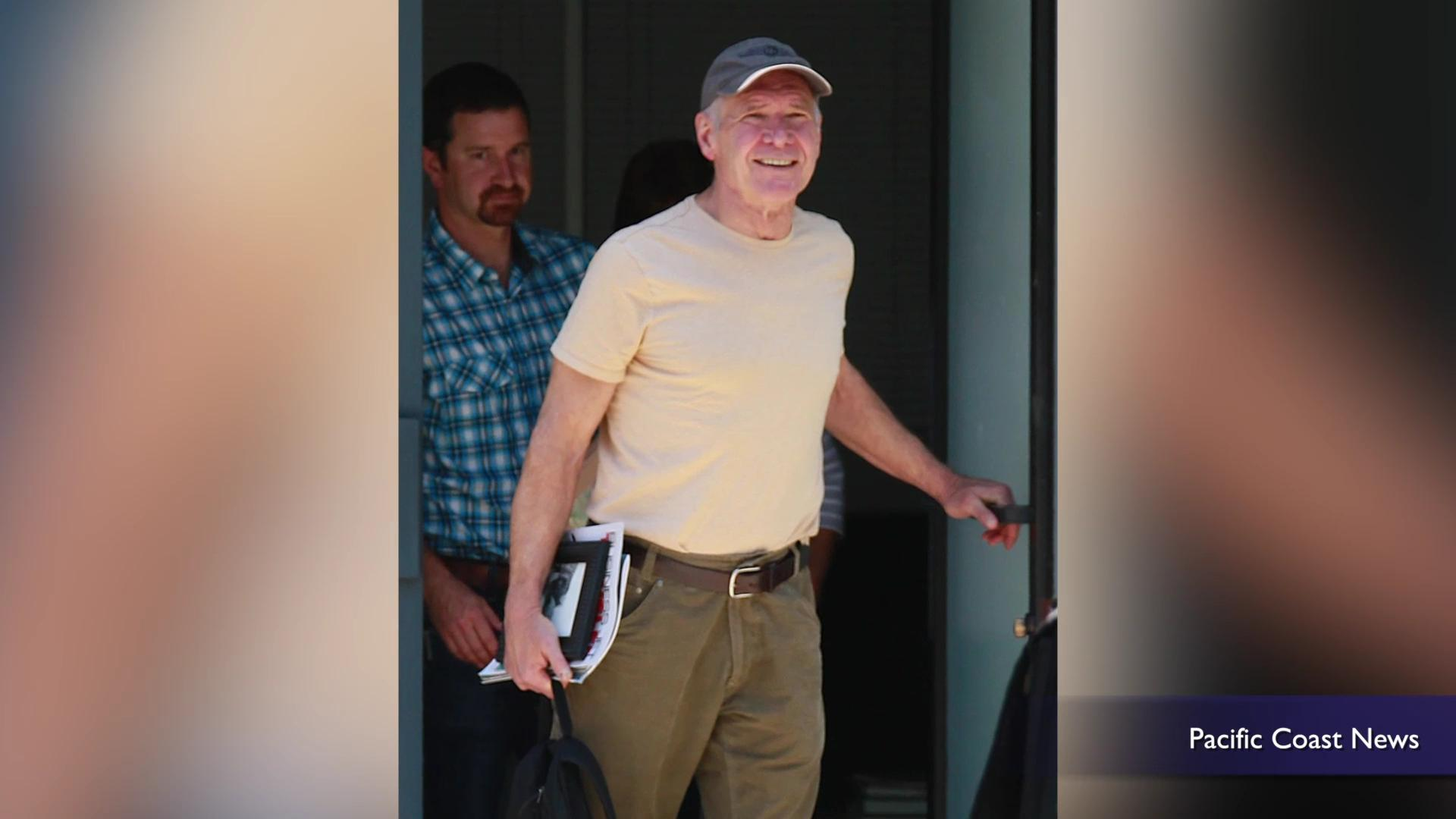 Harrison Ford flies for first time since crash