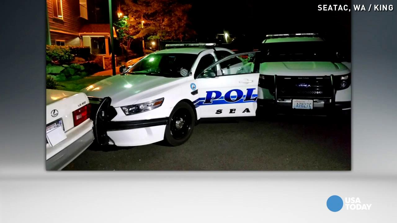 Officer shoots 17-year-old car theft suspect in the head