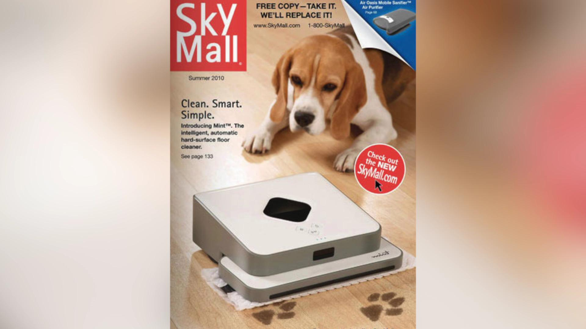 SkyMall is returning online and on airplanes
