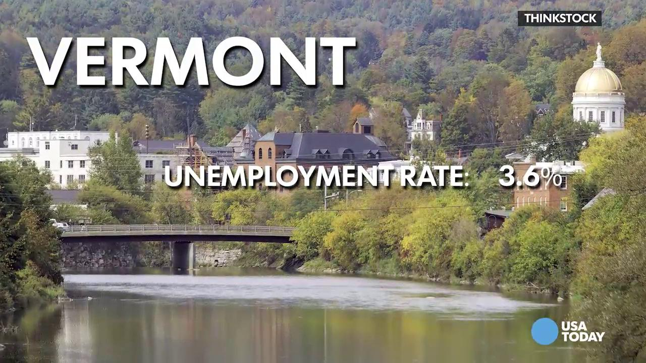 What states with the lowest unemployment have in common