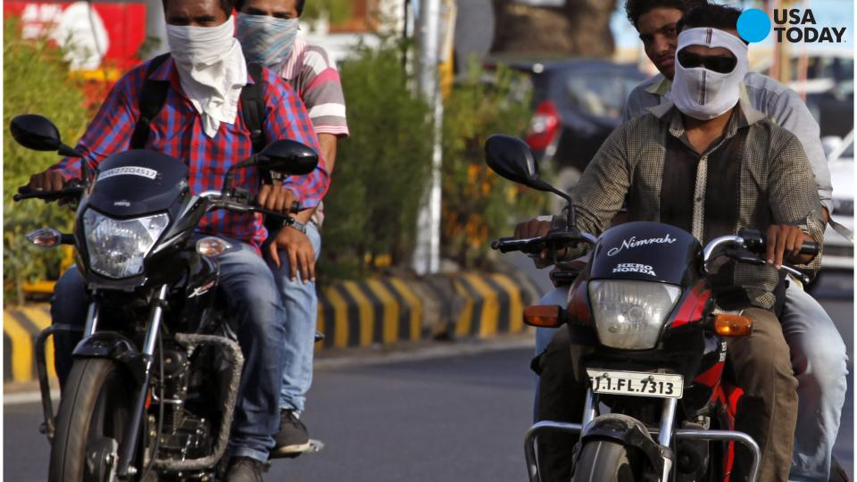 Deadly Heat Wave Hits India