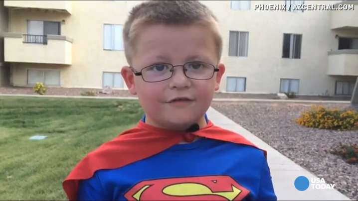 5-year-old boy has big foe, but a lot of super powers