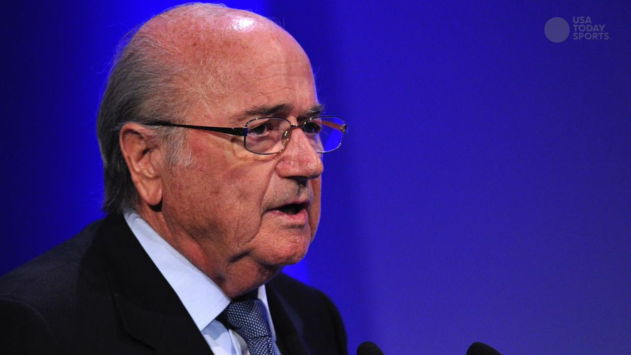 Sepp Blatter re-elected amid FIFA turmoil