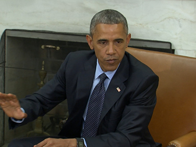 Obama urges passage of intelligence act