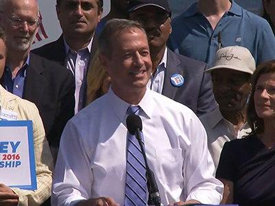Martin O'Malley joins 2016 presidential race