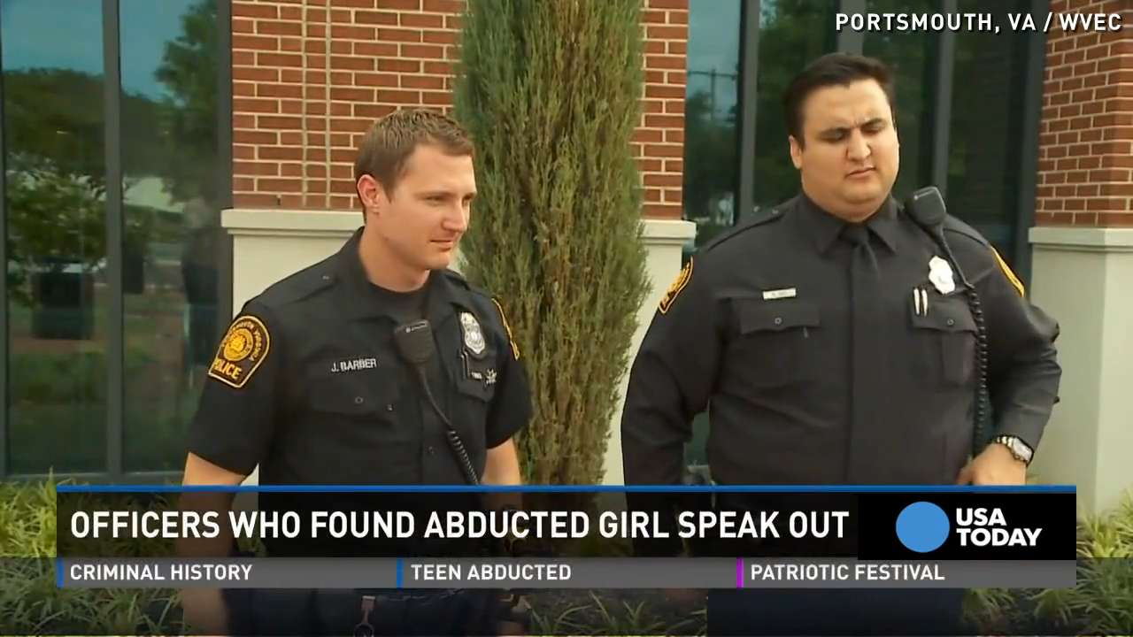 Cops: Glimmer of light led us to abducted girl