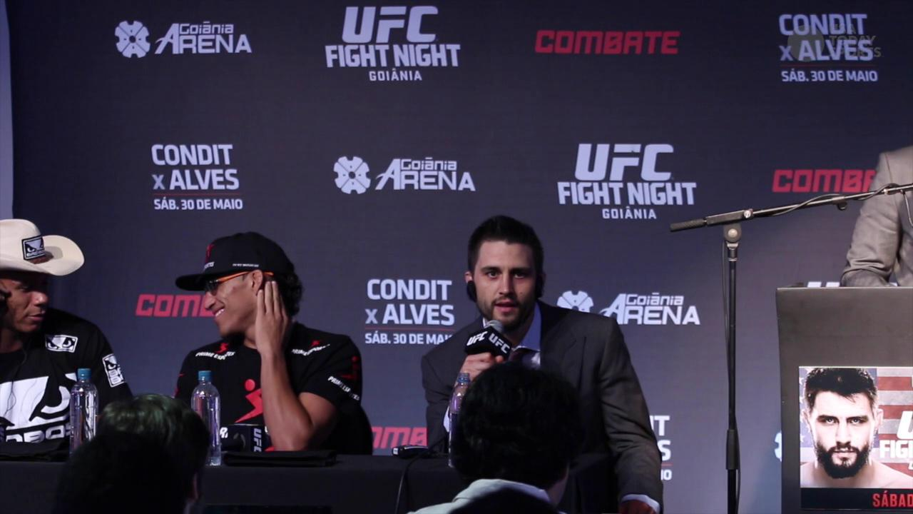 After UFC Fight Night 67 win, Carlos Condit wants the title next