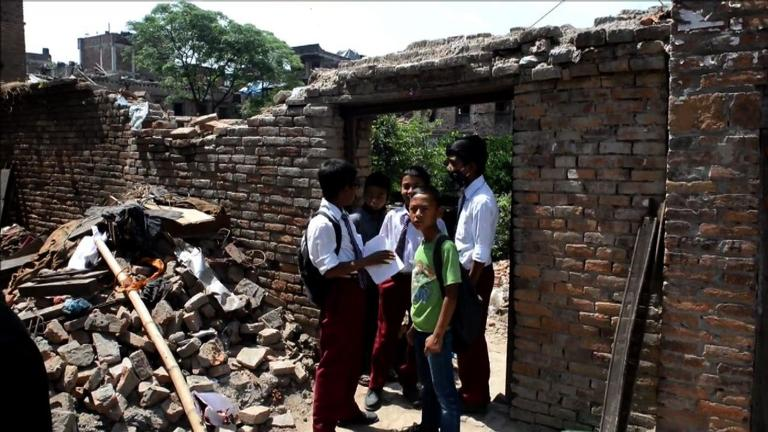 Schools reopen in quake-devastated Nepal