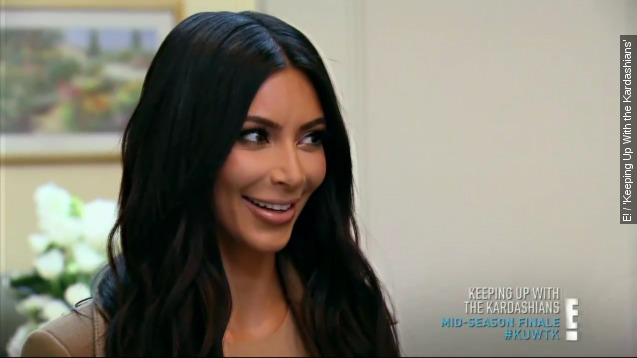 Kim Kardashian announces second pregnancy on 'KUWTK'